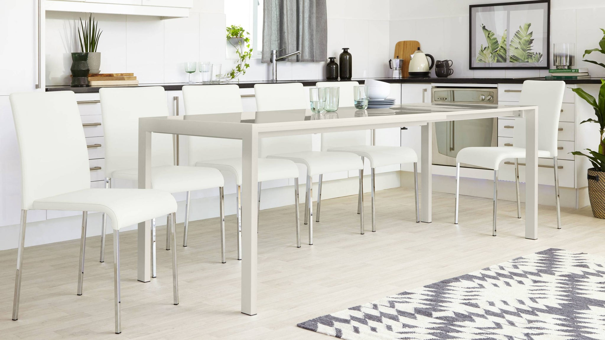 8 Seater Extending Dining Table