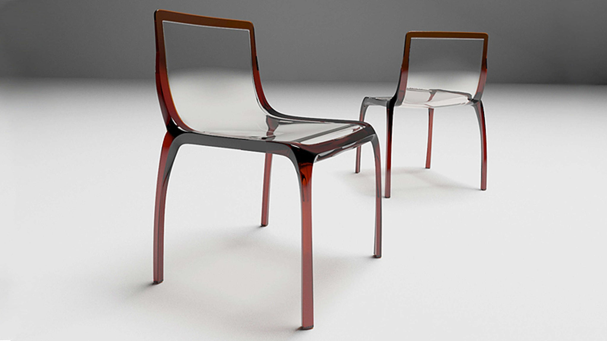 Contemporary Plastic Dining Chairs