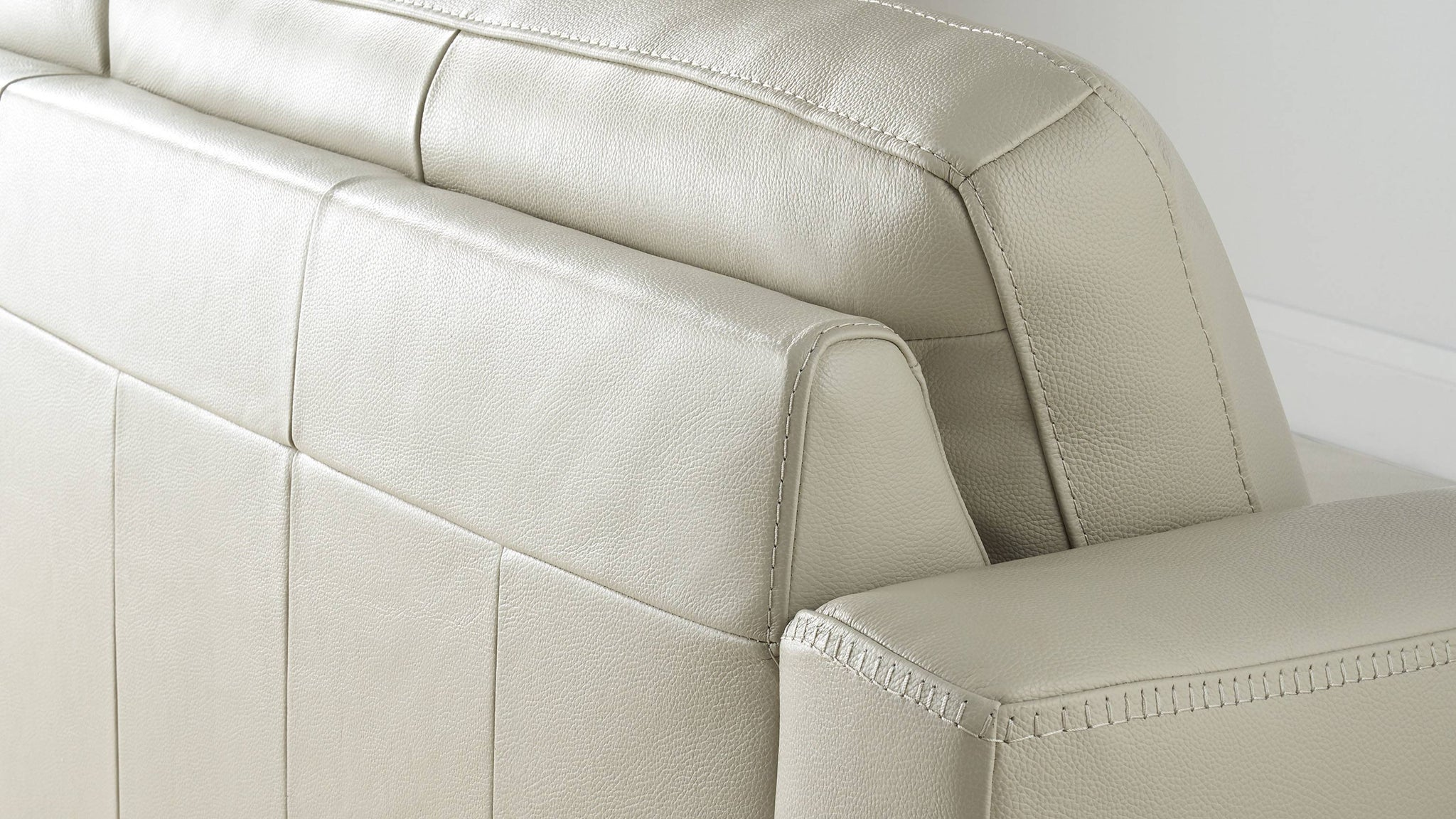 2 seater danetti leather sofas