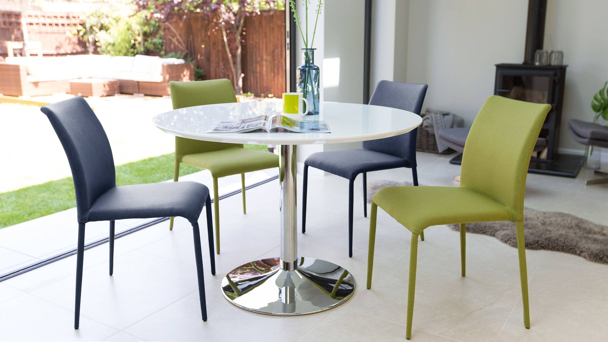 Cheap Colourful Dining Set