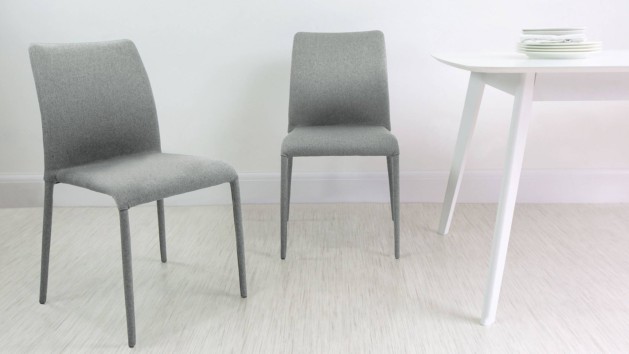 Light Grey Dining Chairs