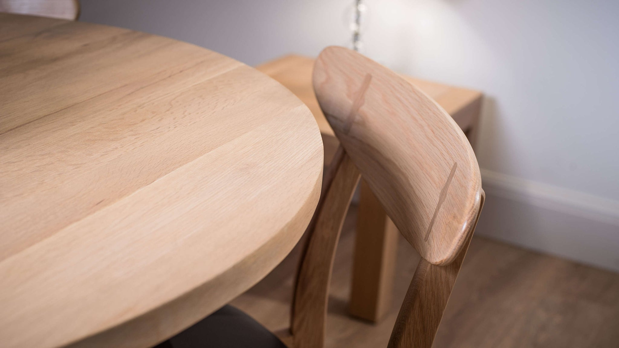 Solid Wooden Dining Table and Chairs