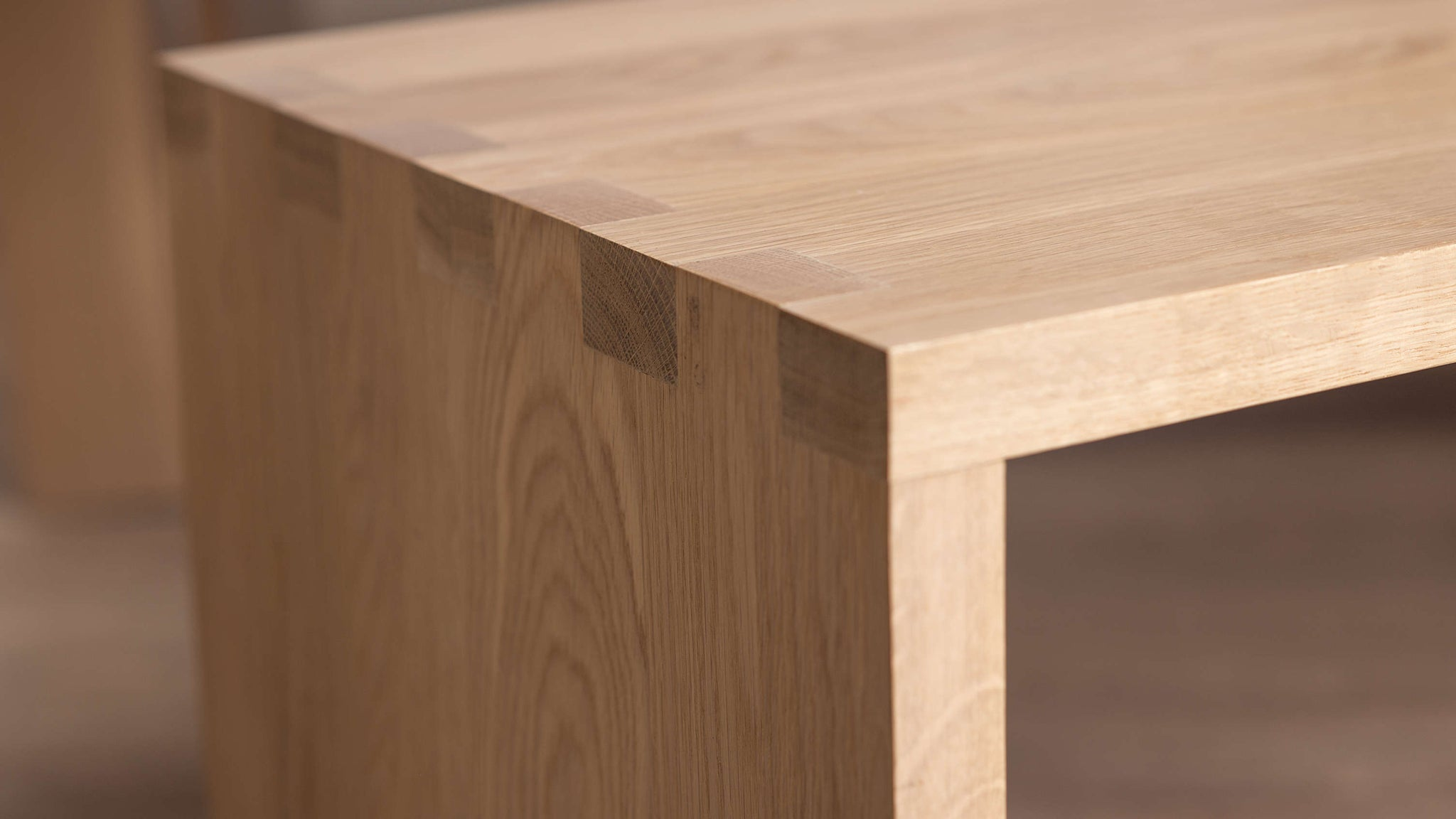 High Quality Solid Oak Dining Bench