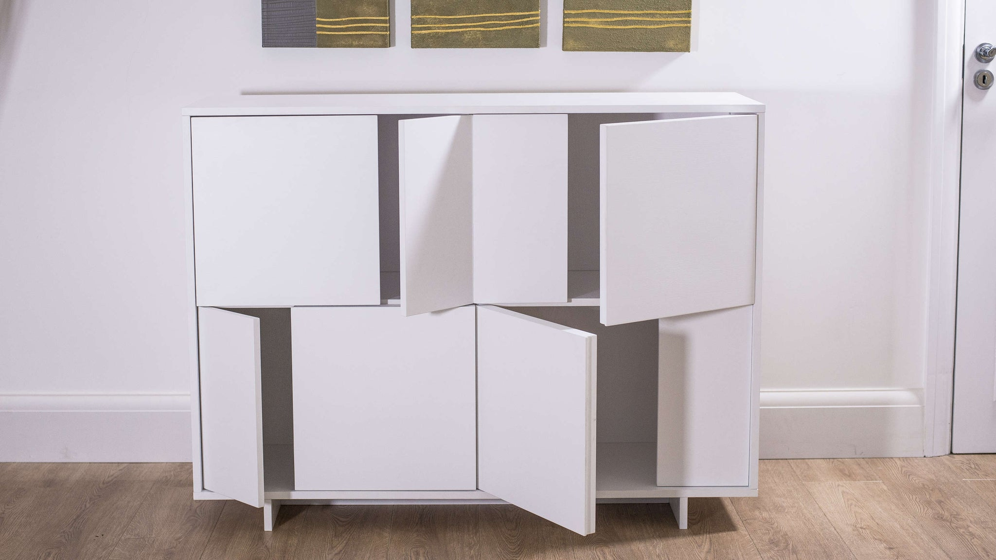 Modern White Sideboard with Stylish Design