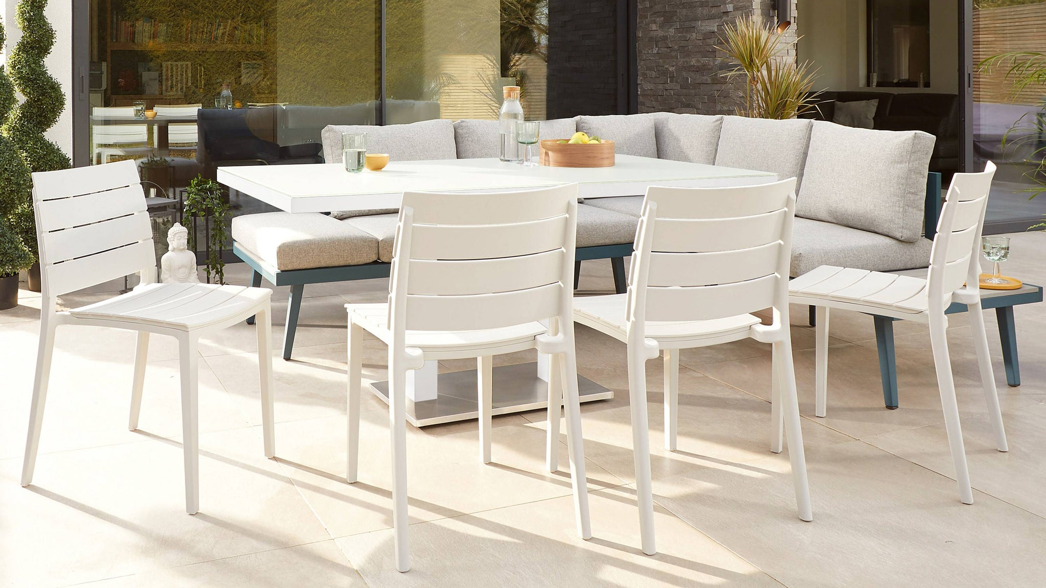 Garden furniture for families