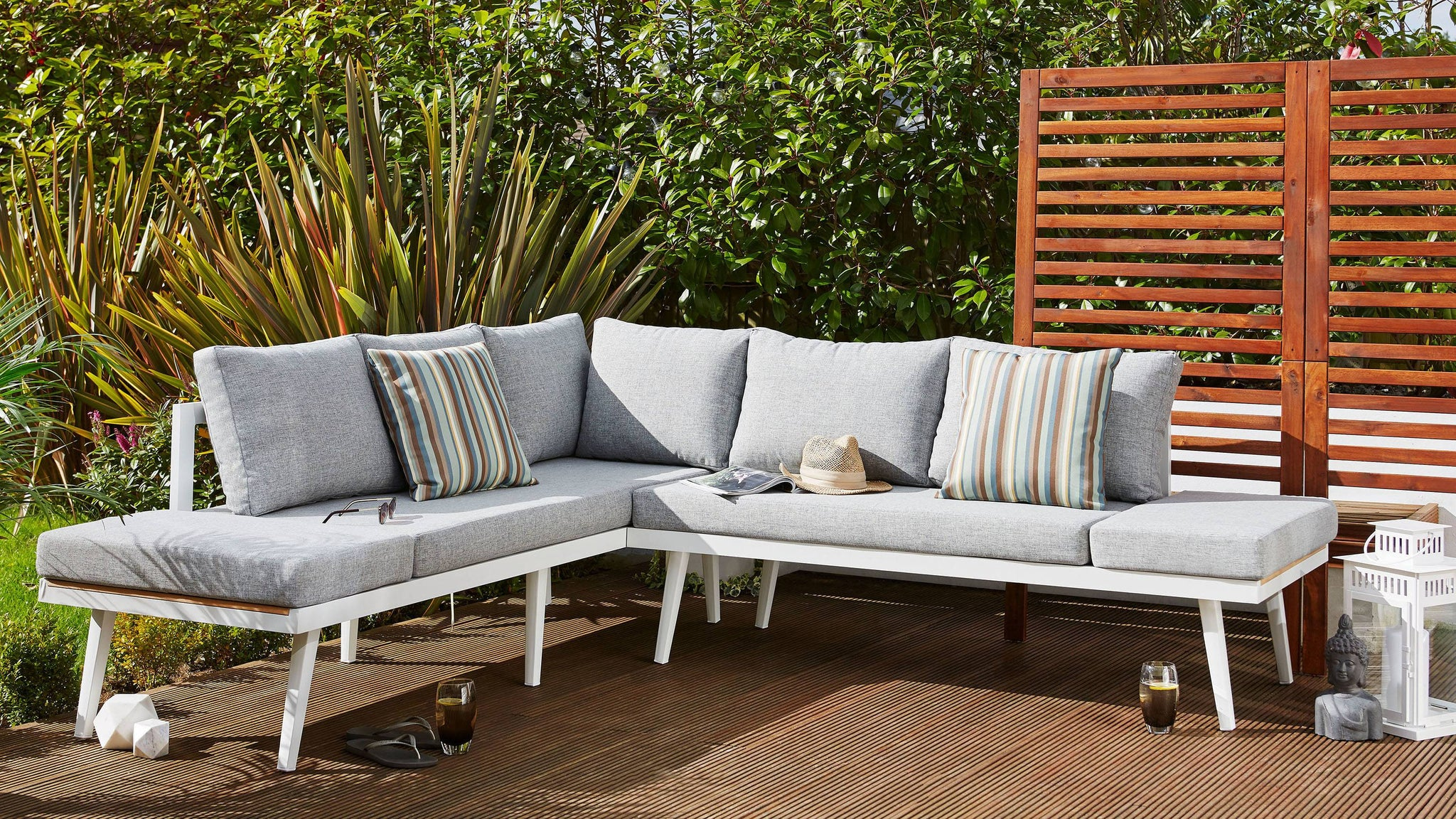 Garden bench dining sets