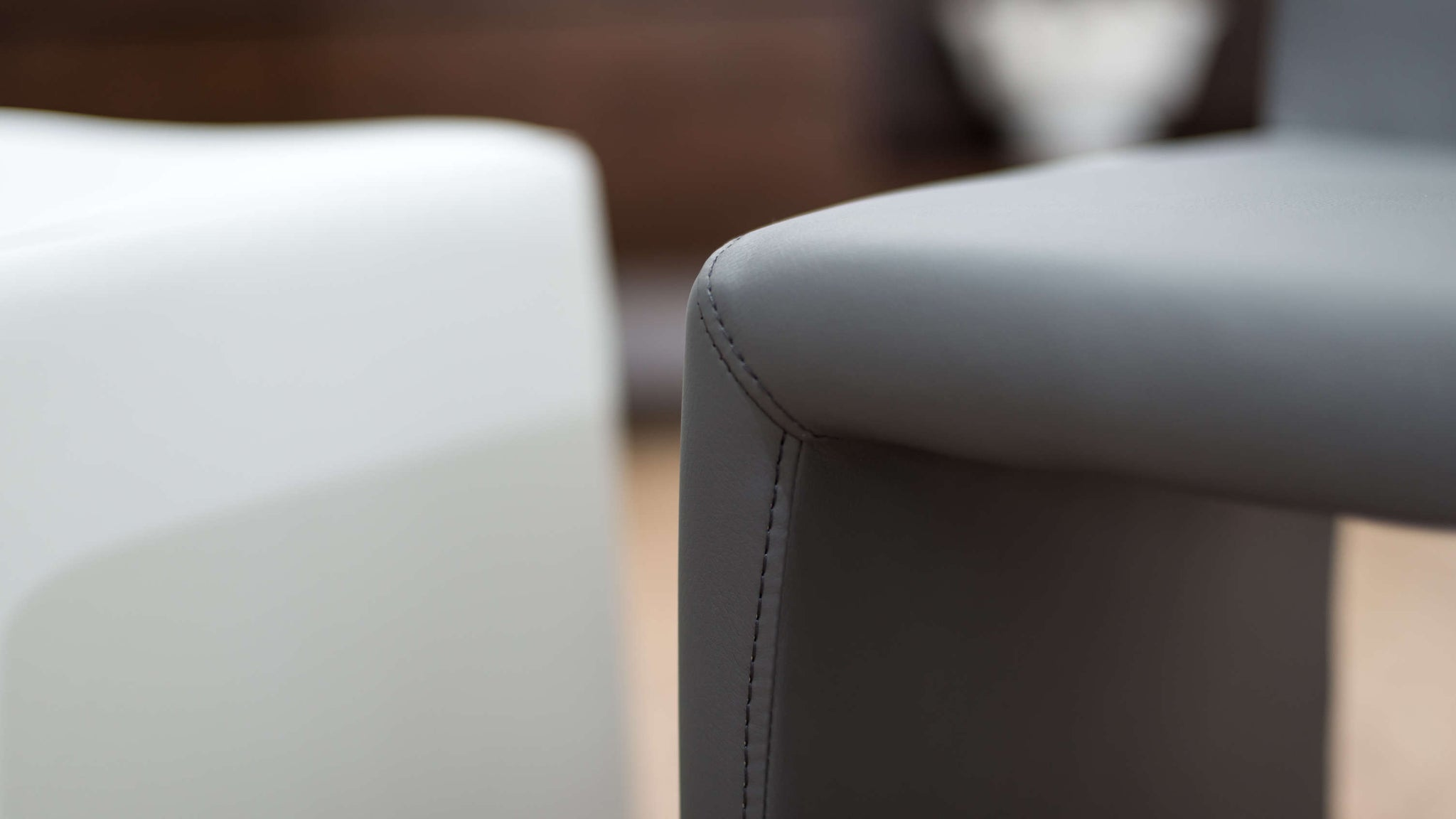Durable Faux Leather Dining Chairs