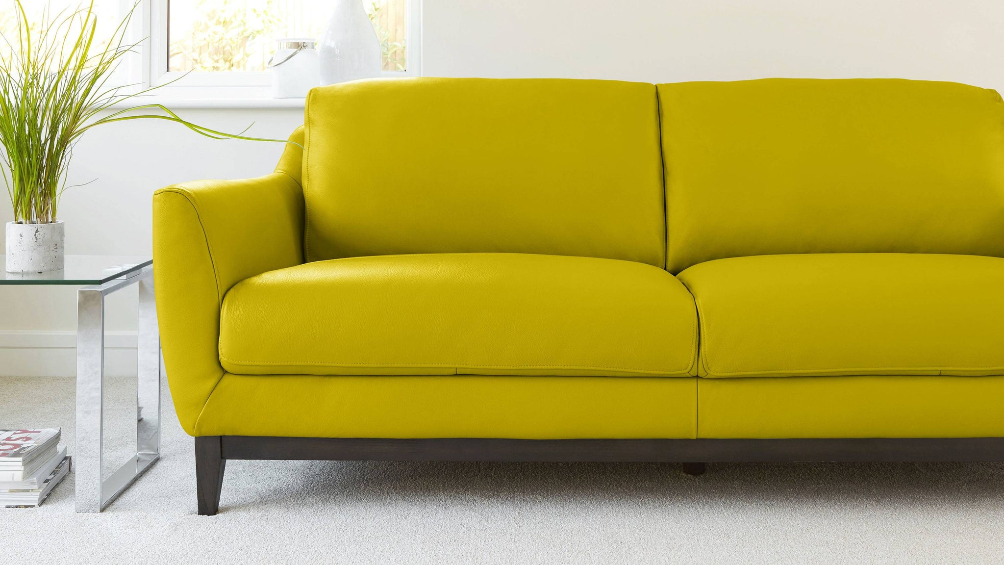 Robin 3 Seater Leather Sofa