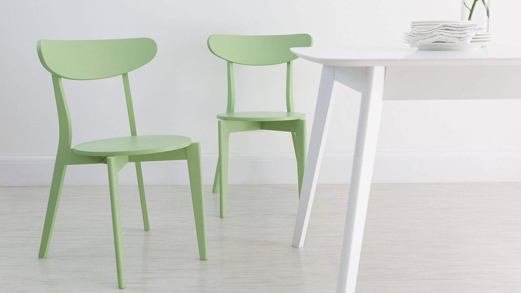 Stylish Green Dining Chairs