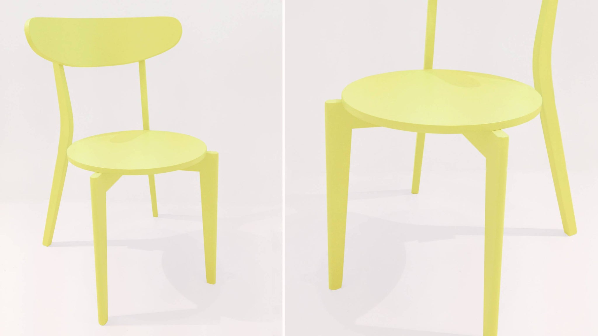 Colourful Wooden Dining Chairs
