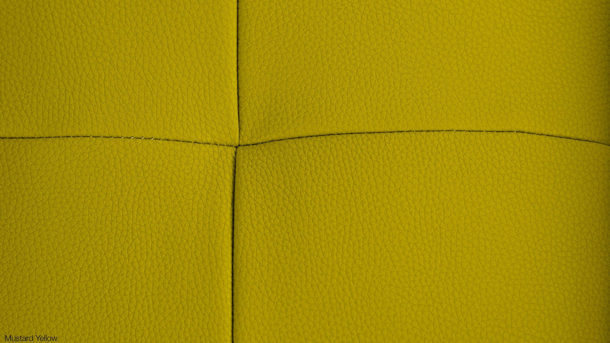 Mustard Yellow Real Leather