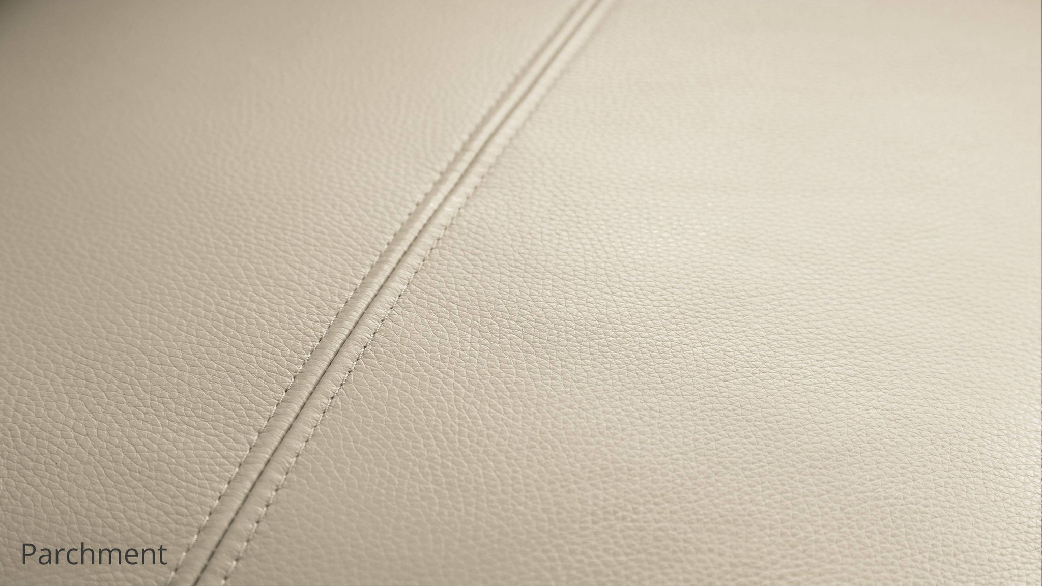 parchment leather sofa