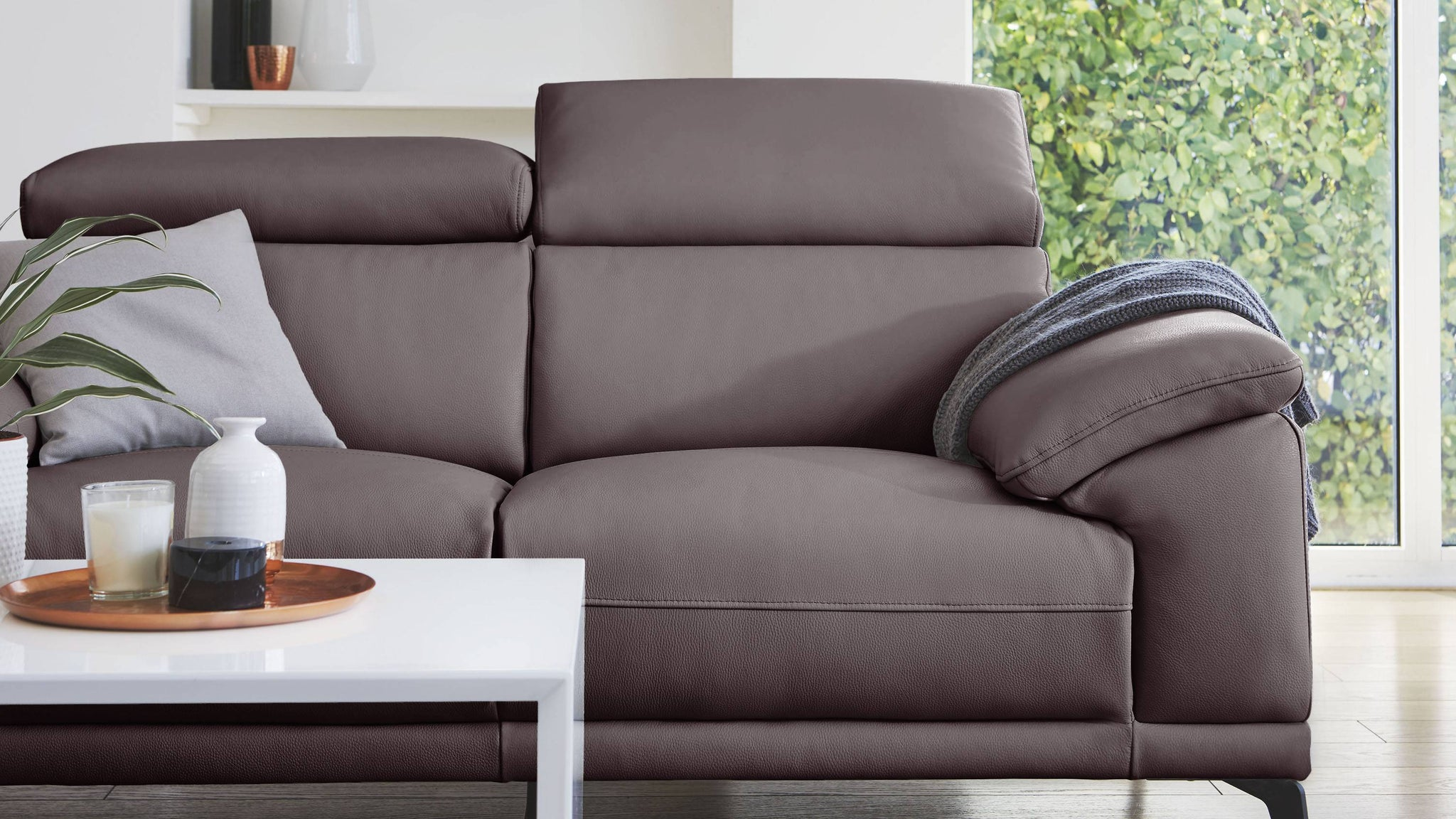 Siena 3 Seater Leather Sofa