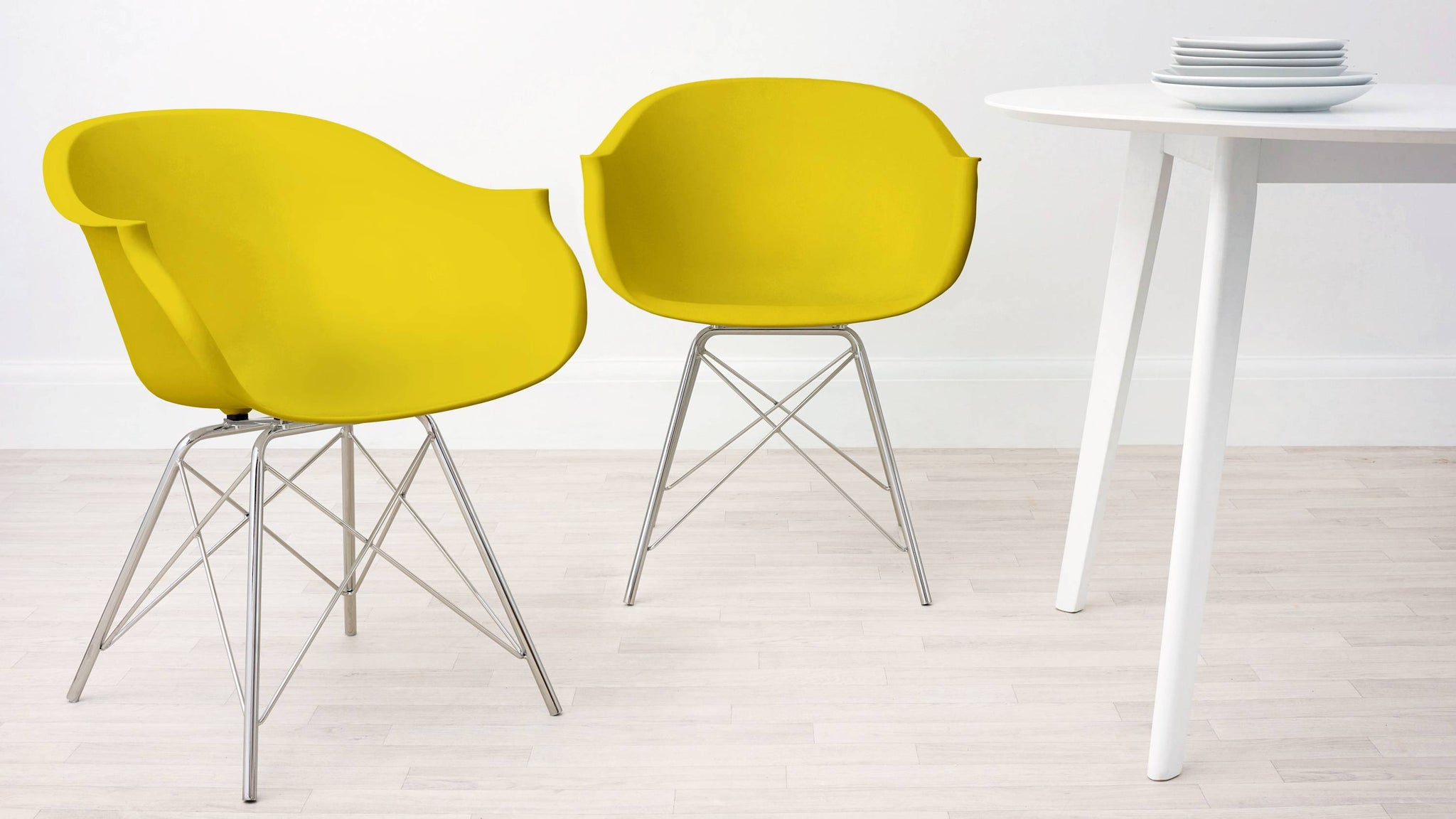 Mustard Yellow Family Dining Armchair