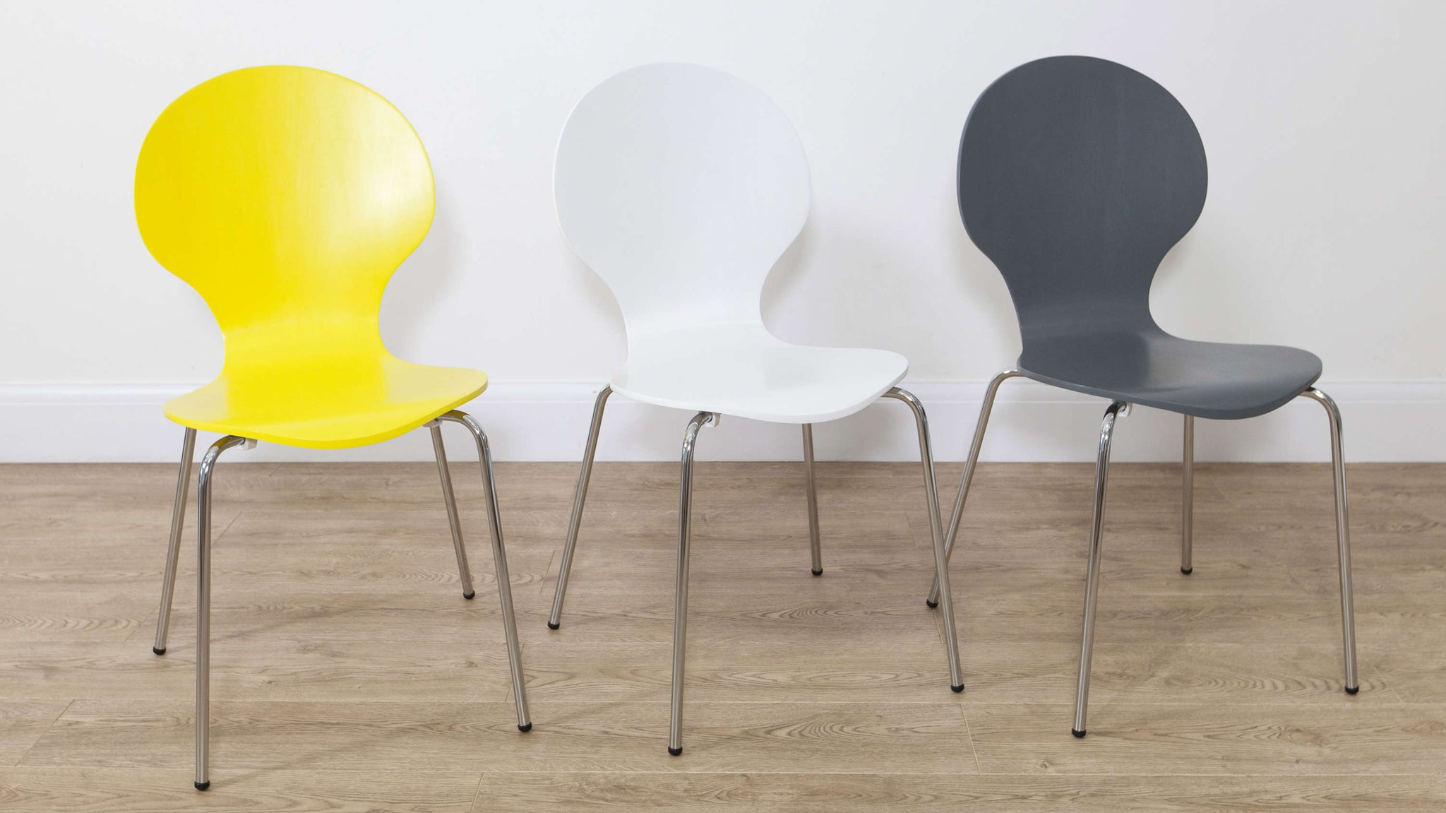 Mid- Century Modern Coloured Dining Chairs
