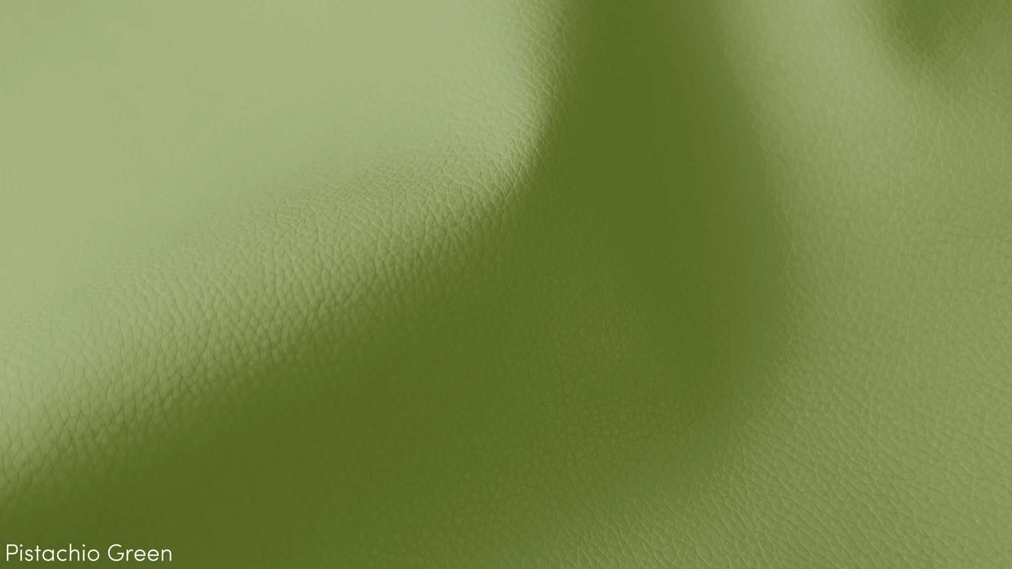 Green Faux Leather
