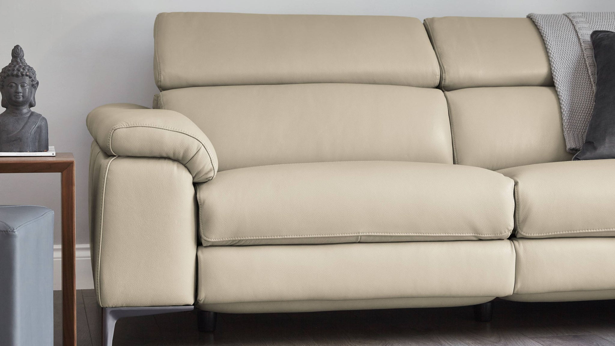 Wren 3 Seater Leather Recliner Sofa