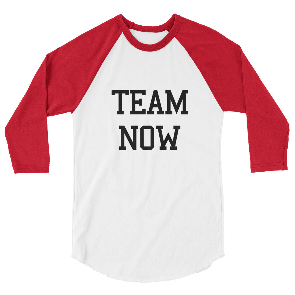 Team Now Raglan Shirt Top