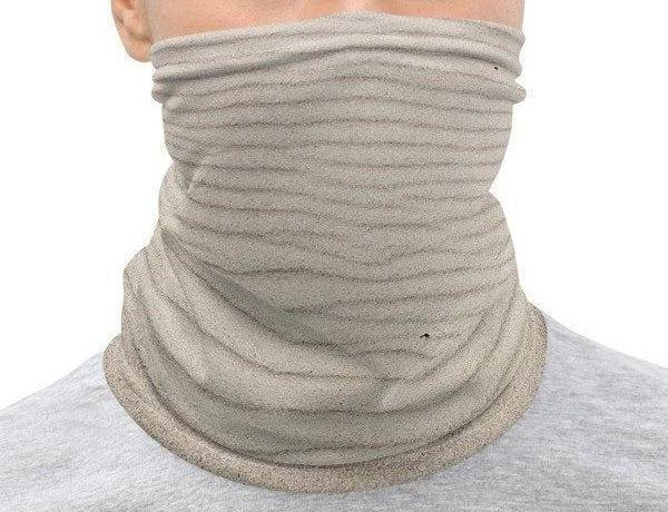 Face Covering-Wind Sand Illusion Print Neck Gaiter-Midnight Sheetcake