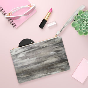 Taylor Vegan Leather Clutch