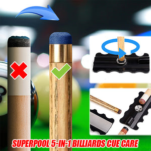 SuperPool 5-in-1 Billiards Cue Care