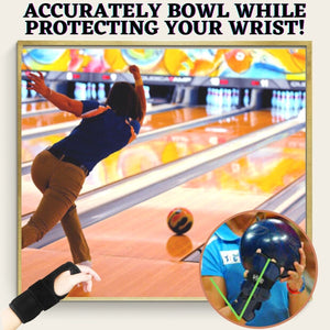 StrikePro Bowling Wrist Support Brace