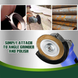SteelShine Angle Grinder Wire Brush