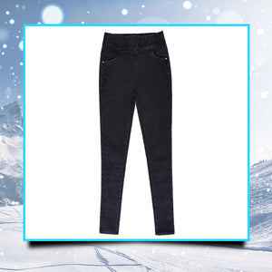 WarmFit Fleece Denim Leggings