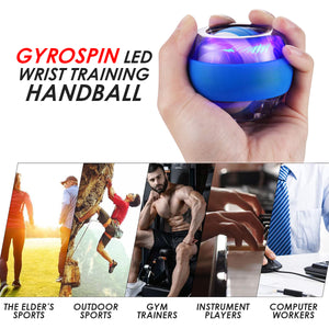 GyroSpin LED Wrist Training Handball