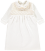 Off White Handsmocked Christening Set - Bebe Bombom