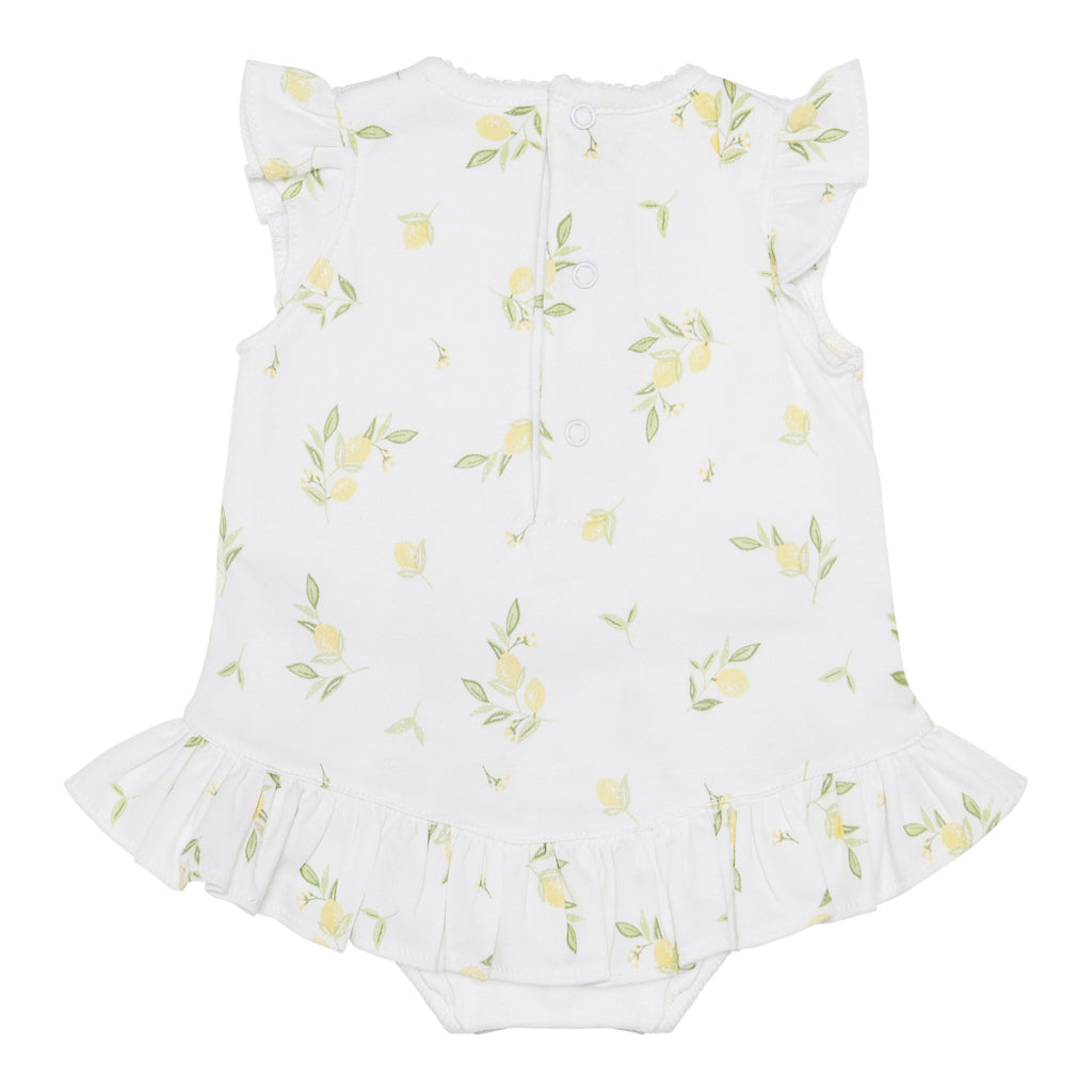 Lemon Pima Cotton Shortie - Bebe Bombom