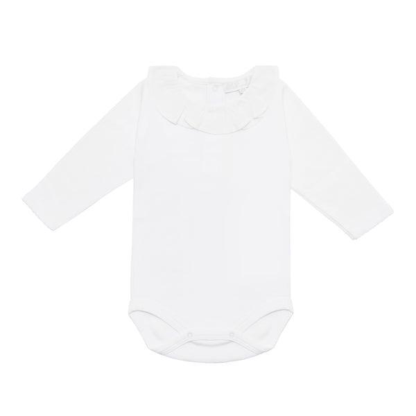 Bodysuit with Ruffle Collar - Bebe Bombom