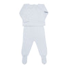 Grey Pima Cotton Set - Bebe Bombom