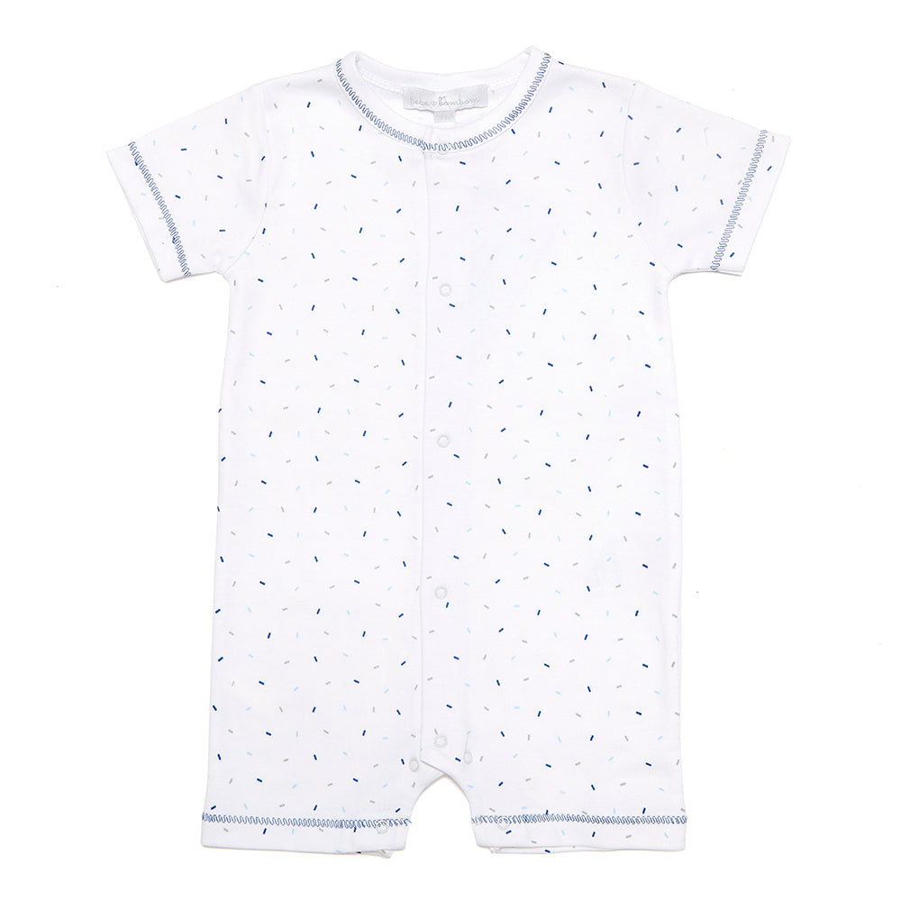 Confetti Pima Cotton Playsuit - Bebe Bombom
