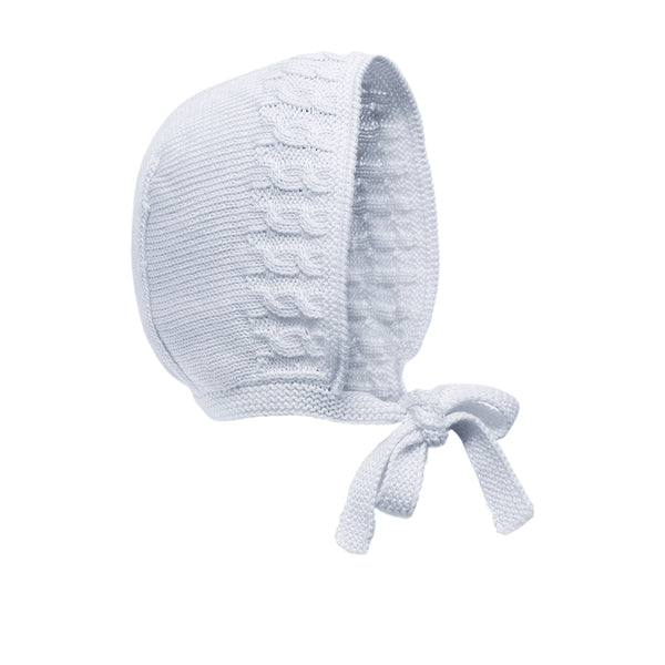 Back in stock! Grey Pima Cotton Bonnet - Bebe Bombom