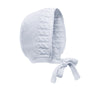 Grey Pima Cotton Bonnet, Trousers and Jumper Gift Set - Bebe Bombom
