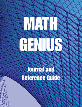 Math Genius - Journal and Reference Guide