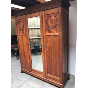 Queensland Maple Wardrobe