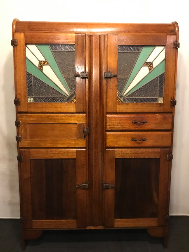 Classic Art Deco Kitchen Dresser