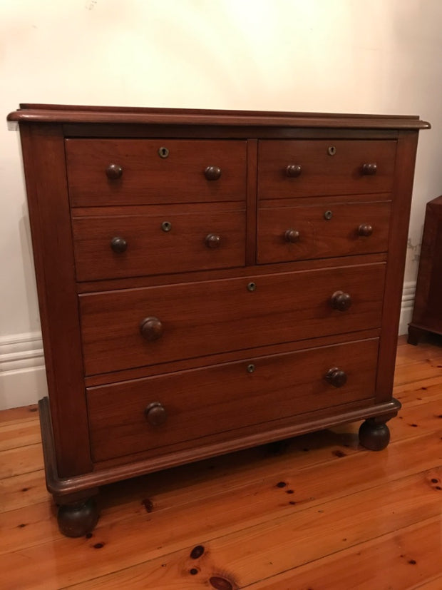 Victorian Cedar Chest Of Drawers