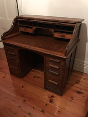 English Roll Top Desk