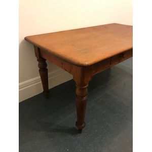 Victorian Farmhouse Kitchen Table