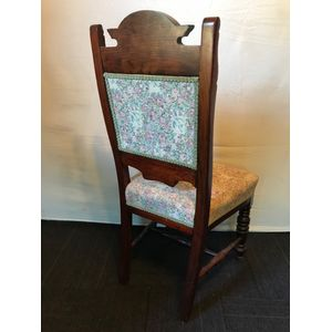 Antique Walnut Bedroom Chair