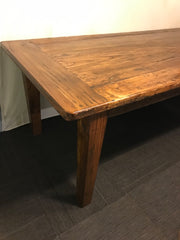 Oak French Style Farmhouse Table