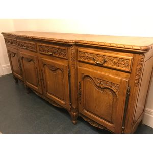 French Oak Sideboard