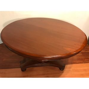 Victorian Cedar Tilt Top Table