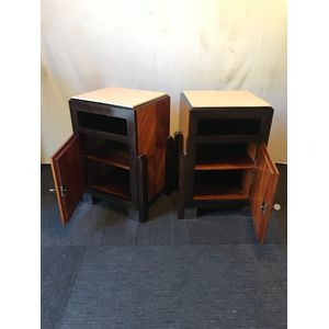 Art Deco Style Bedside Cabinets