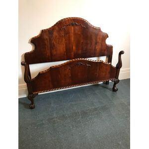Mahogany Chippendale Bed