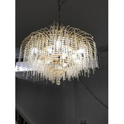 70s Crystal Chandelier