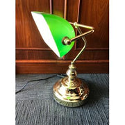 Vintage Style Bankers Lamp